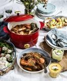 煮る・焼く・蒸す・揚げるをマルチにこなす ホーローライクな多機能鍋 グリルポット