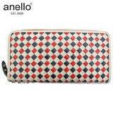 anello Weaving Synthetic Leather Long Wallet