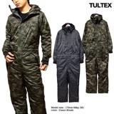 ★中綿裏キルティングで暖かい!!★TULTEX(タルテックス)の防水・防寒オールインワンつなぎ★