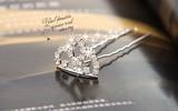 クラウンダイヤモンドのヘアクリップ 花嫁ヘアアクセサリー