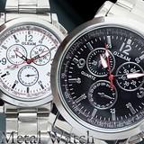 メタルメンズウォッチ メンズ腕時計