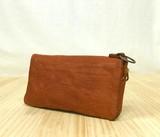 日本製 フォロ・ウォレット 馬革ヌメ 二つ折り長財布