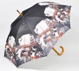 【6月21日から30日まで10%分引きセール!】【ジャンプ傘】CATミュージック ネコ雑貨