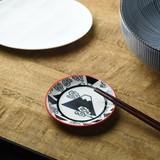 ジャポネスク 9.8cm豆皿 黒富士[日本製/美濃焼/洋食器]