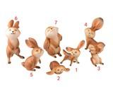 【アニマル置物】 可愛いウサギ  ラビット