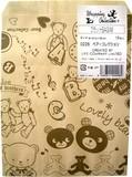フラットBAG M ベアーコレクション 10枚入【ラッピング用品】