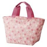 【お弁当グッズ】保冷弁当袋トート型 桜