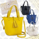 Thick Material Compact Shoulder Bag 4 Colors