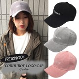 ★新作★コーデュロイLOGOキャップ★帽子510★