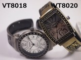 VITAROSO Ladies Wrist Watch Bangle Watch Movement Antique Finish