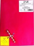 不織布BAG L リボン付 ピンク1P【ラッピング用品】