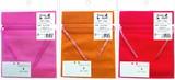 不織布クイックBAG チェックリボン2P 3色セット【ラッピング用品】