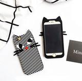 【iphone用保護ケース】  個性的なカバー  シリカゲル