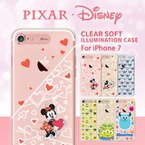 iPhone7 Case Clear Illumination Case Disney