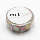 KAMOI Washi Tape 1P Mosaic Washi Tape