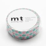 KAMOI Washi Tape 1P Square Pink Washi Tape