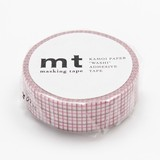 KAMOI Pink Brown Washi Tape