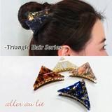 【aller au lit】-Triangle Hair Series-三角バンス・G