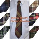 ◆英アソート対象商品◆【英国雑貨】GREEN GROVE タータンチェックネクタイ 2