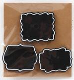 【特価SAIL】マグネットミニブラックボード3個セット