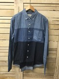 【2017年SS新作】4.5OZ パネル ブロッキング RGシャツ