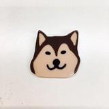 柴犬顔バッジ:unpetit(アンぺティット)