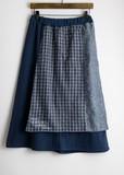 【布帛巻きスカート】