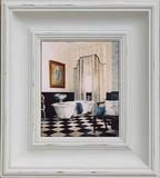 キャンバスアートシリーズ Bathroom with Oval Mirror 2166205-