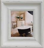 キャンバスアートシリーズ Bathroom with vase of Flowers 2166206-