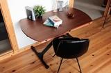 送料込!機能と美しさを備えた昇降機能付テーブル