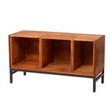 ブリック 天然木製ボックスサイドテーブル PR-ST840  ディスプレイ 什器