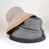 【春夏新作】パイピングミドルキャペリン レディース帽子