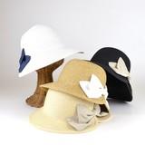 【春夏新作】クリーンレディリボンペーパーキャペリン レディース帽子