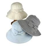 【春夏新作】デニムテープポケタブルハット レディース帽子