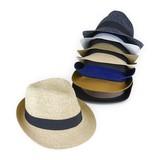 【春夏新作】洗えるポリペーパー中折 ヤング帽子