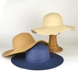 【春夏新作】無地ペーパーブレードキャペリン(10cm) レディース帽子