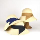 【春夏新作】ペーパーロールキャペリン(1) レディース帽子