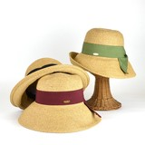 【春夏新作】MIXペーパーロールキャペリン レディース帽子
