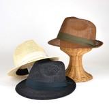 【春夏新作】日本製ヨリカンピ風ペーパー中折 ヤング帽子