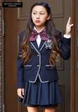 (卒業フォーマル女の子)新作ミチコロンドンパイピングJKスーツセット 入園入学/卒園卒業