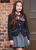 (卒業フォーマル女の子)新作ミチコロンドンセーラー襟JKスーツセット 入園入学/卒園卒業