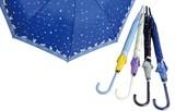 【軽くて丈夫なグラスファイバー親骨使用】婦人傘ネコと星空