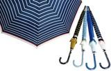 【軽くて丈夫なグラスファイバー親骨使用】婦人傘ボーダー&ドット