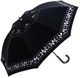 ●UVカット率99%●晴雨兼用ローズ