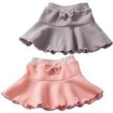 【Bijoux&Bee】フリースフリルのスカート<日本製>