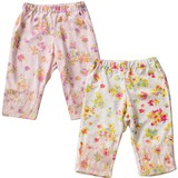 Flower Frill Pants