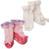 Baby Fake Ballet Shoes Socks