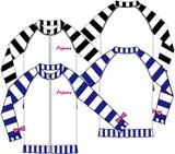<先行予約>【2017水着】ラッシュガード(前ファスナー)/女児(2色130cm〜160cm)