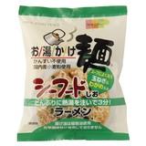 お湯かけ麺シーフードしおラーメン 73G