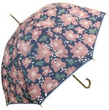 【1月入荷 先行予約5%OFF】★2017【春夏新作】雨傘★雨晴兼用 花柄ジャンプ傘♪
